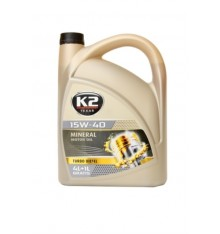 K2 TEXAR 15W-40 TURBO DIESEL 5 L