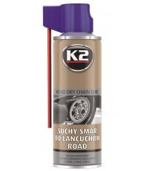 K2 SUCHY SMAR DO ŁAŃCUCHÓW MOTOCYKLOWYCH 400 ML